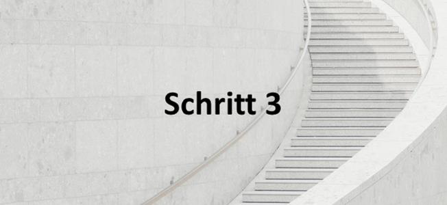 Schritt 3: Short List & Anwaltsauswahl