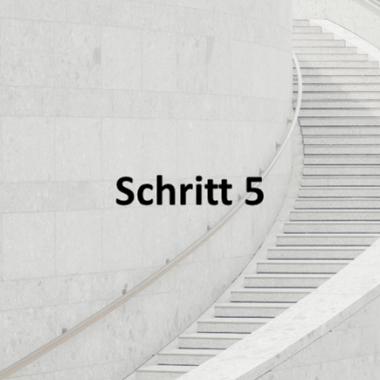 Schritt 5: Mandatsformalien