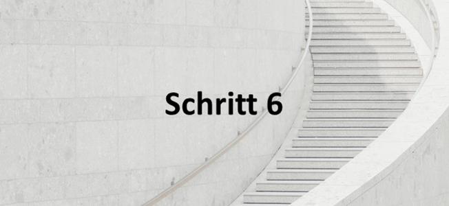 Schritt 6: Mandatsabschluss
